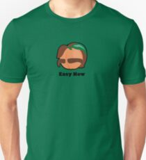 Fuzzy Man Peach Unisex T-Shirt