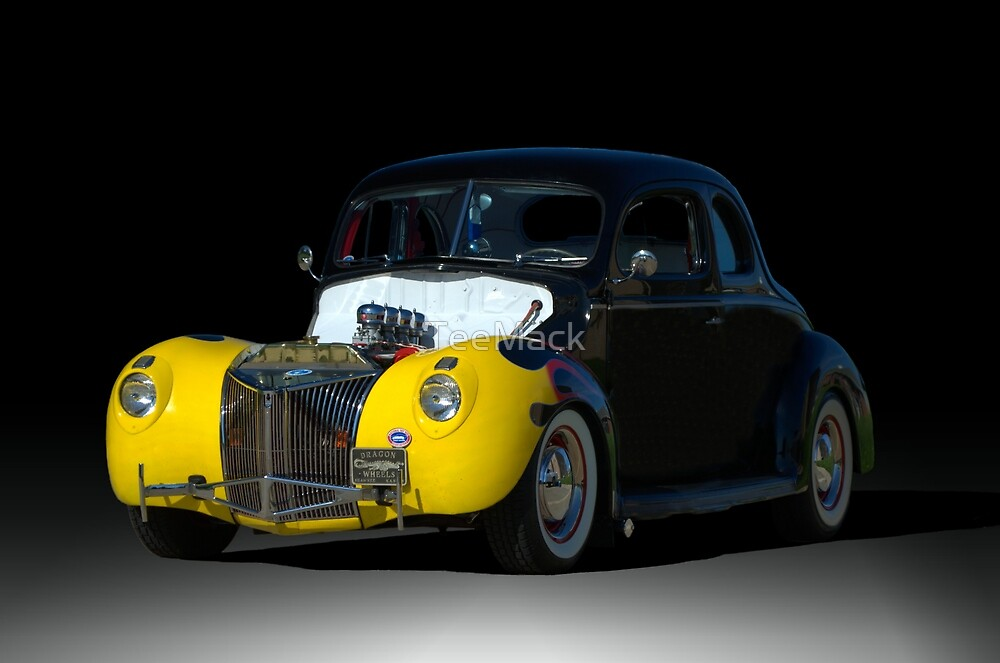 1939 Ford Coupe Hot Rod by TeeMack