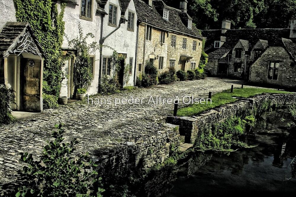Castle Combe. -  the English village by hans peðer alfreð olsen