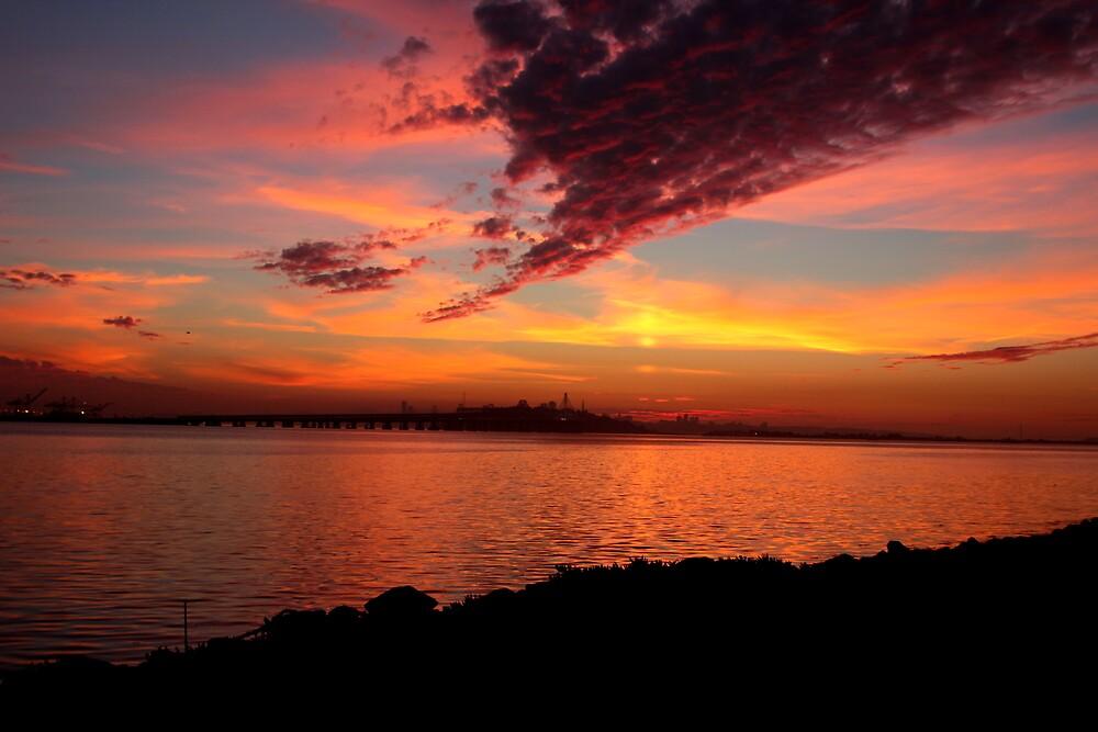 san francisco sunset by Hennyphoto