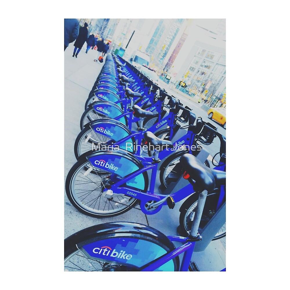 NYC Bike by Maria  Rinehart Jones