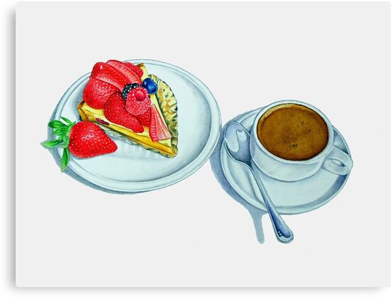 Berry Tart and Espresso by joeyartist
