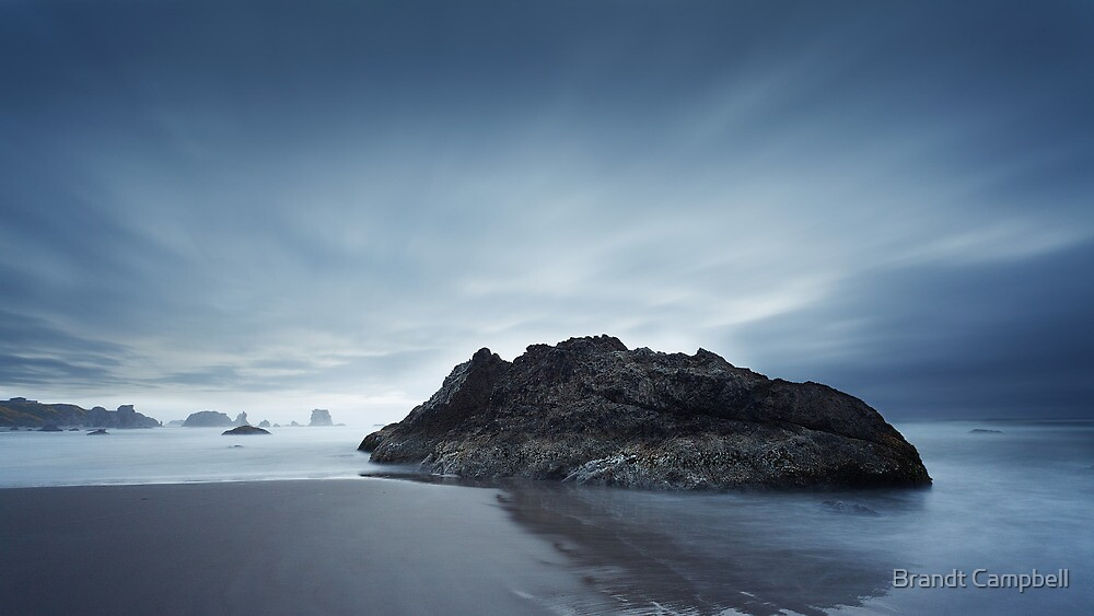Pacific Tranquility by Brandt Campbell