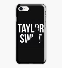 ts silhoutte  iPhone Case/Skin