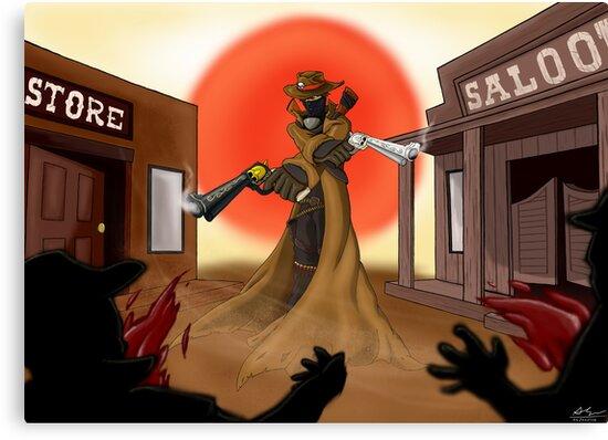 Gunslinger by Alex Trinidad