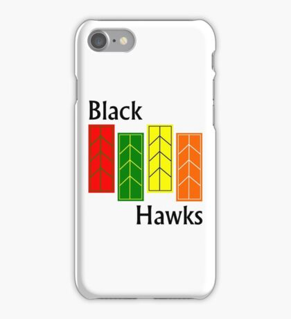 Black Hawks Phone Case iPhone Case/Skin