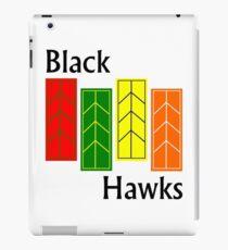 Black Hawks iPad Case iPad Case/Skin