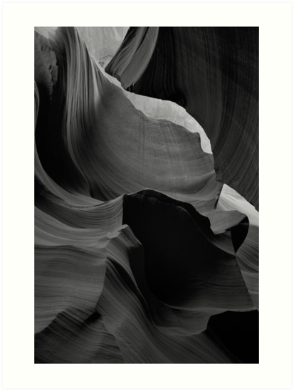 Lines in Slot Canyon by KellyHeaton