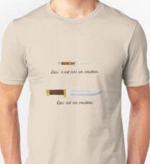 Crocodile Magritte Unisex T-Shirt