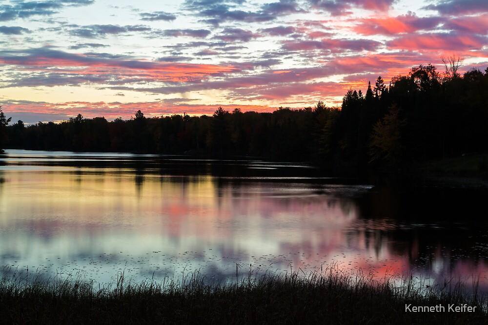 Peaceful Daybreak by Kenneth Keifer