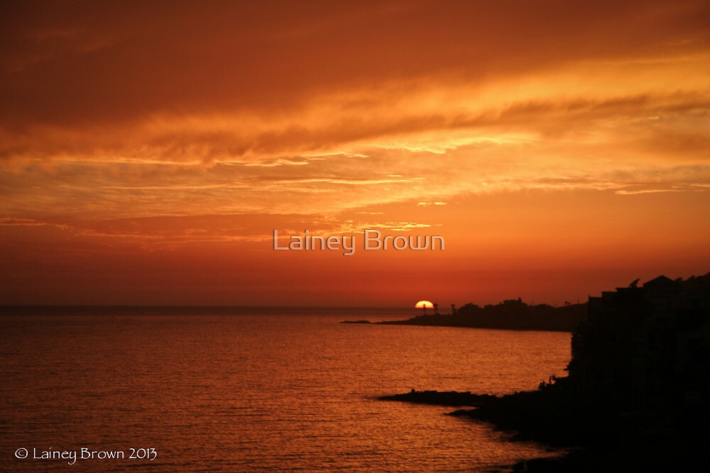 Moroccan sunset  by Lainey Brown
