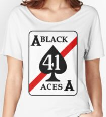 VFA-41 / VF-41 Black Aces Patch Women's Relaxed Fit T-Shirt
