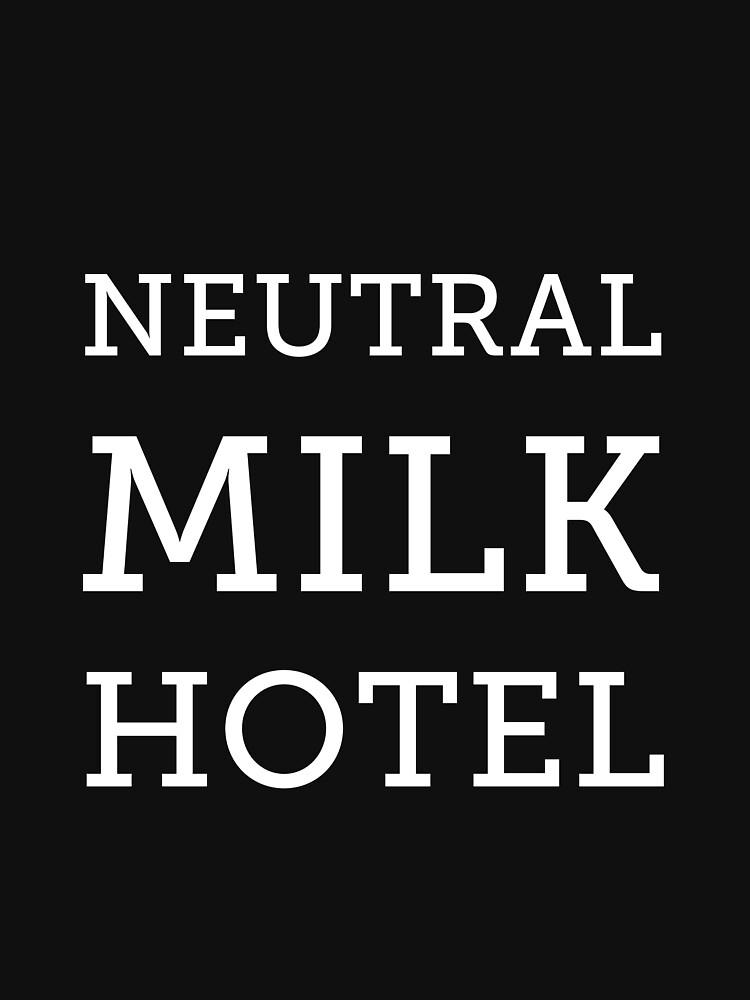 Neutral Milk Hotel - White by jakel