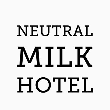 Neutral Milk Hotel - Black by jakel