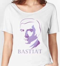 Bastiat (Purple) Women's Relaxed Fit T-Shirt