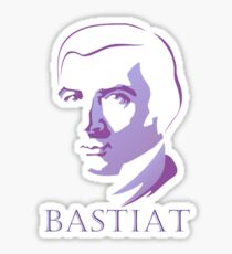 Bastiat (Purple) Sticker