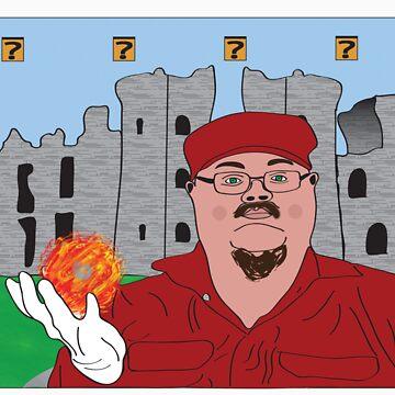 Mario In Mushroom Kingdom Version Two by crazycowboy557
