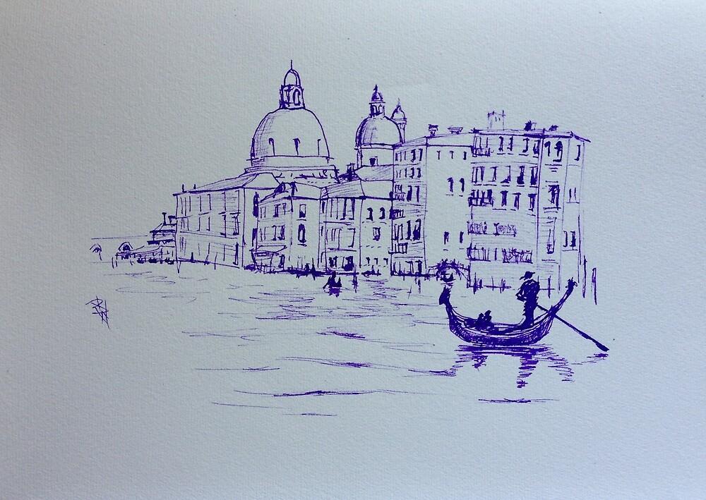 Venice memories #2 by Pauline Winwood