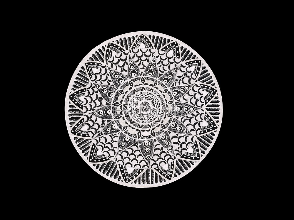 Mandala by EmilySkelling