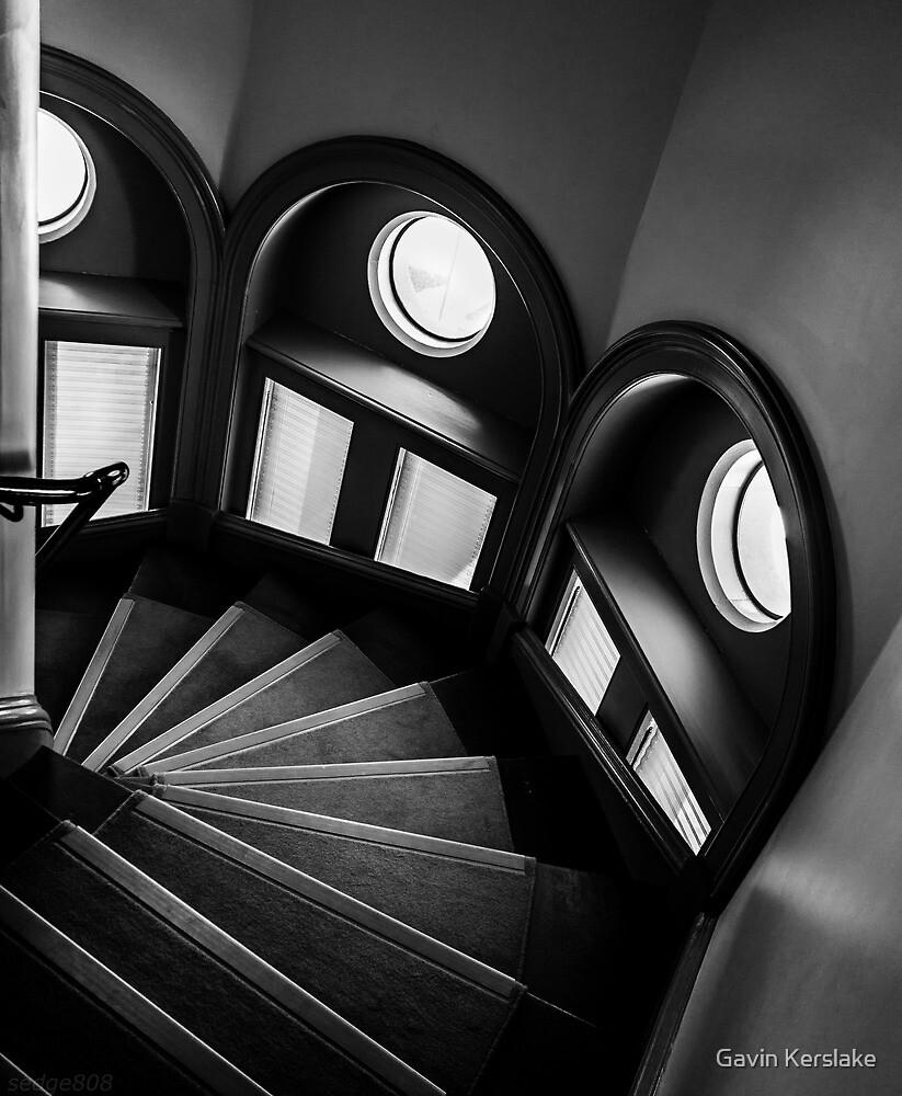 Mortlock Library Stairs by Gavin Kerslake