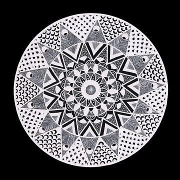 Mandala Angular by EmilySkelling