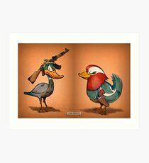 Duck Hunters Art Print