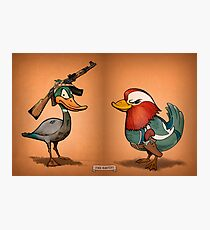 Duck Hunters Photographic Print