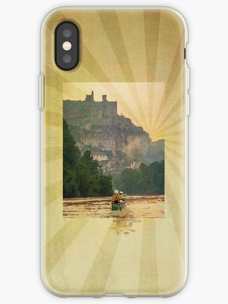 Phone case: Canoe Dordogne by Steven House
