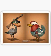 Duck Hunters Sticker