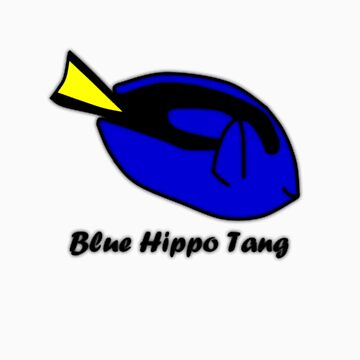 It's a Blue Hippo Tang! by Hoyo12
