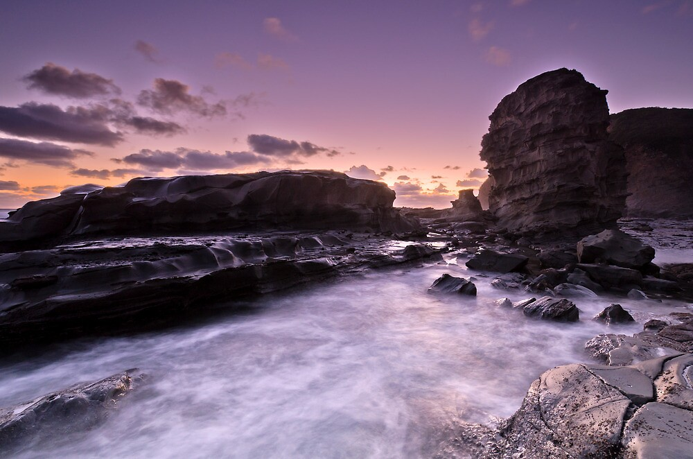 Castle Cove by Benjamin Watson Photography