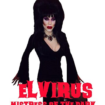Sharon Needles is Elvirus by cambrilis