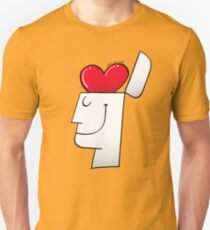 A Heart in my Head Unisex T-Shirt