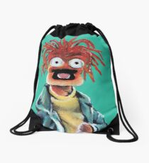 Pepe The King Prawn Fan Art  Drawstring Bag