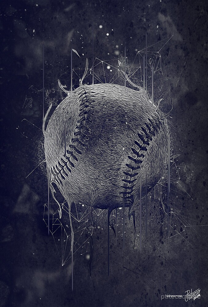 Dark Baseball by ptitecaostore
