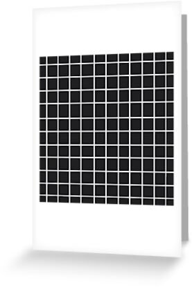 black and white grid by swift1989
