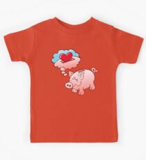 Piggy Bank Daydreaming of Hearts instead of Coins Kids Clothes