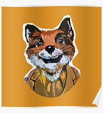 Cuss Yeah - MR FOX Poster