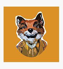 Cuss Yeah - MR FOX Photographic Print