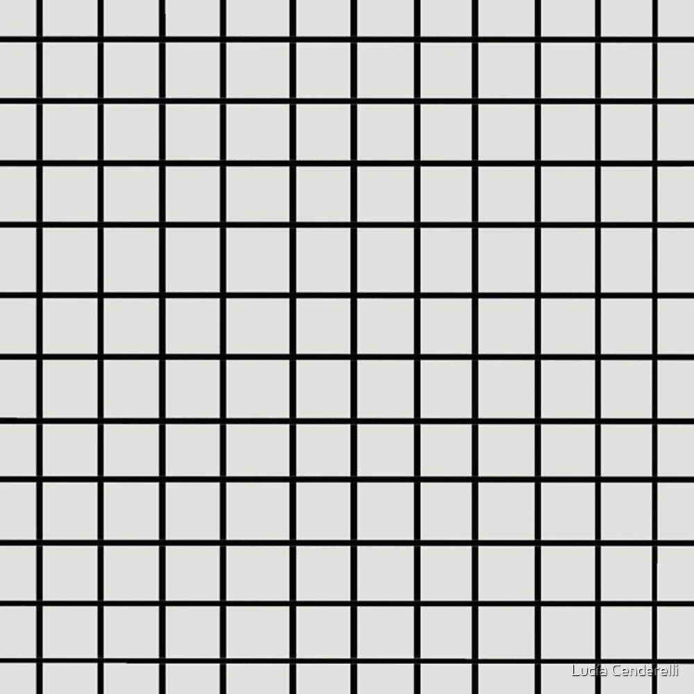 white and black grid by swift1989
