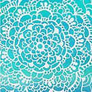 Aqua Turquoise Sparkle by Tangerine-Tane