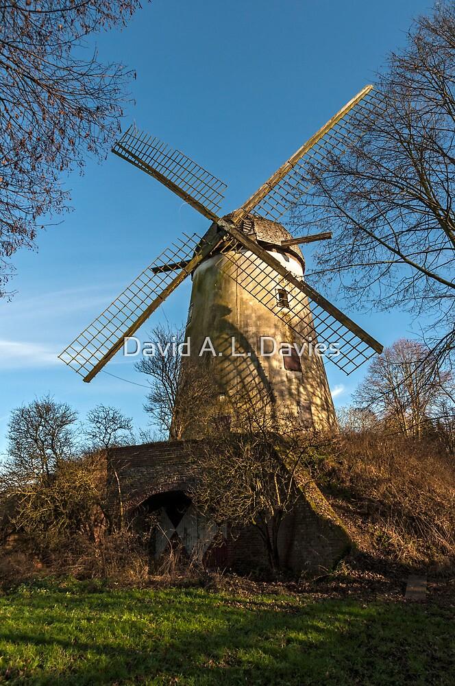 Immerath Windmill, Erkelenz, NRW, Germany by David A. L. Davies