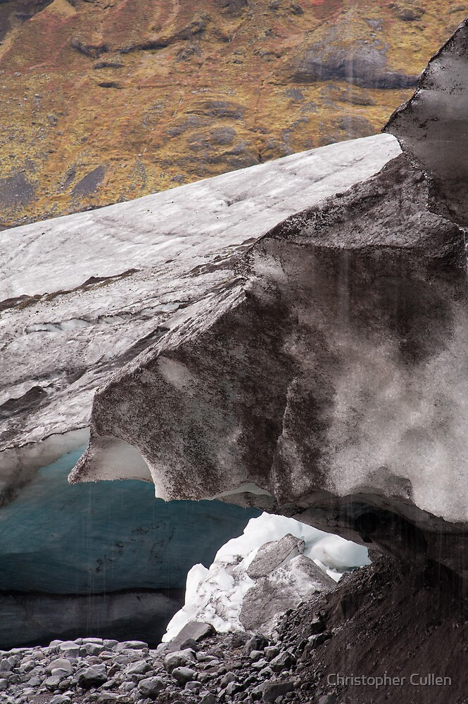 Ice Cave entrance #5 by Christopher Cullen