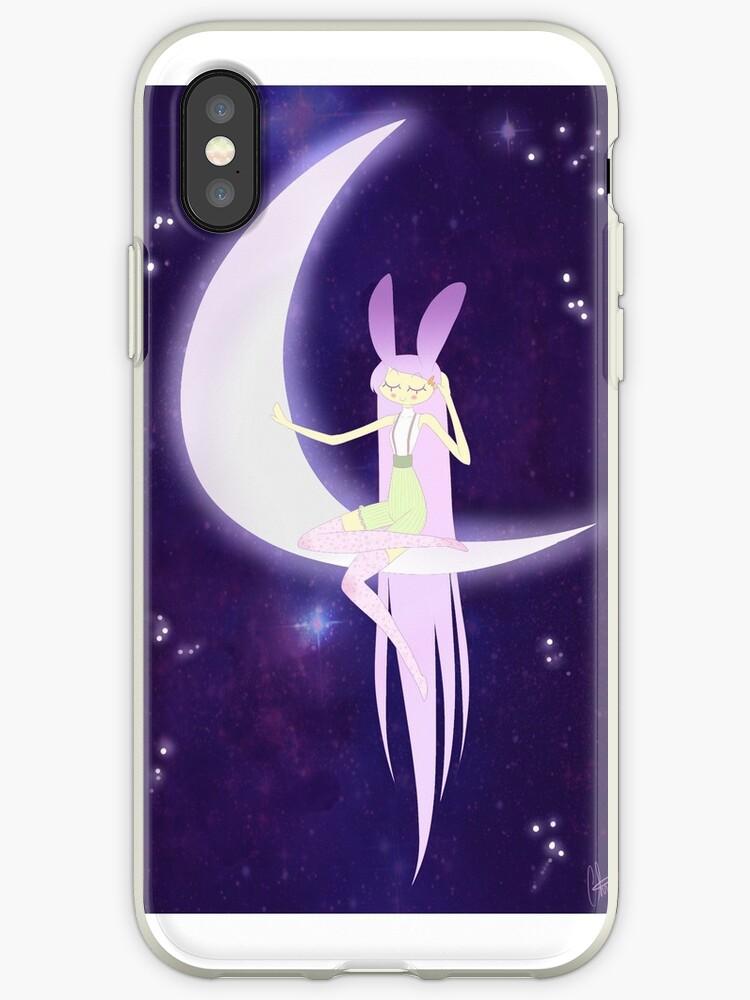 Lavender Rabbit Listens for Dreams by AliceScythe