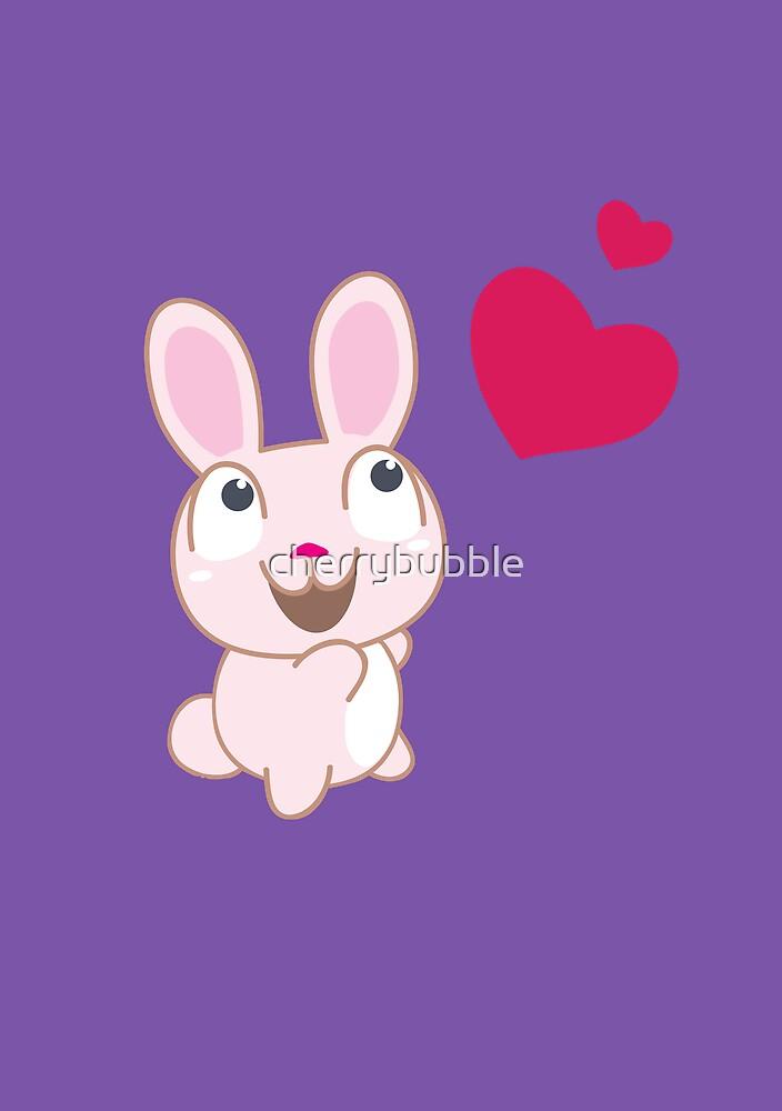 Love Rabbit by cherrybubble