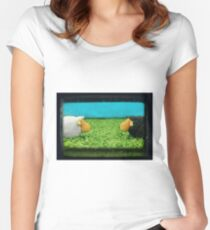 Two Sheep! Women's Fitted Scoop T-Shirt