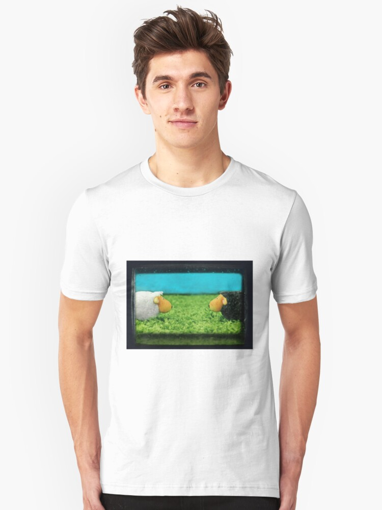 Two Sheep! Unisex T-Shirt Front