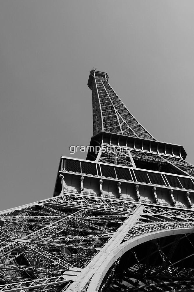 The eiffel tower - Paris by grampsman