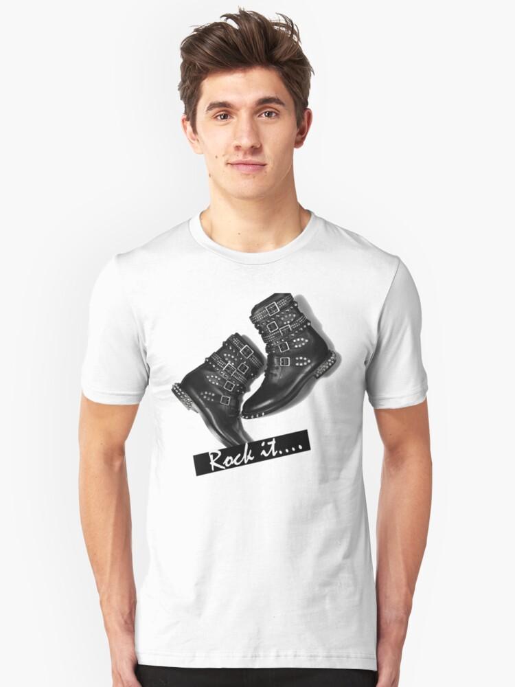Rock it Unisex T-Shirt Front