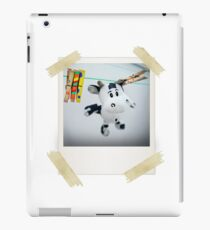 Cow on Wire iPad Case/Skin